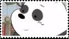 panda stamp by hyenatxt