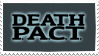 team death p.a.c.t. stamp