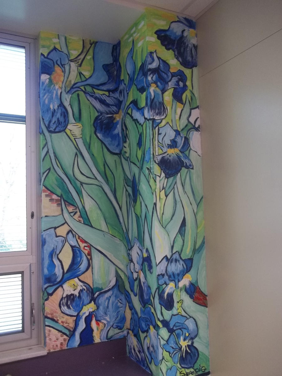 Van gogh mural by mimithefangirl1 on deviantart for 9 11 mural van