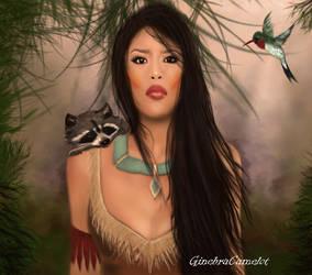 Pocahontas by GinebraCamelot