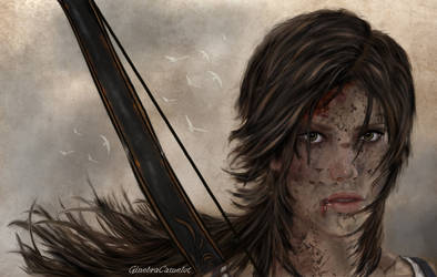 Lara Croft - Tomb Raider by GinebraCamelot