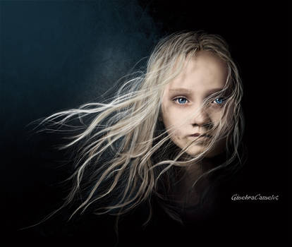 Little Cosette- Les miserables by GinebraCamelot