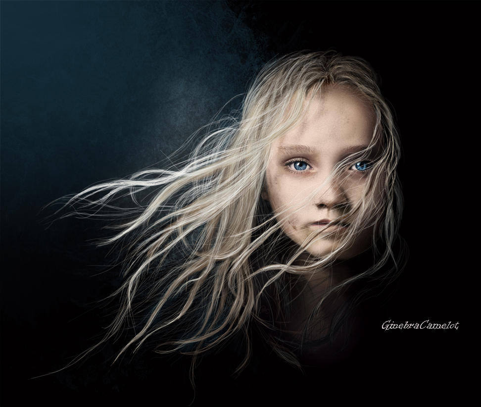 Little Cosette- Les miserables by GinebraCamelot