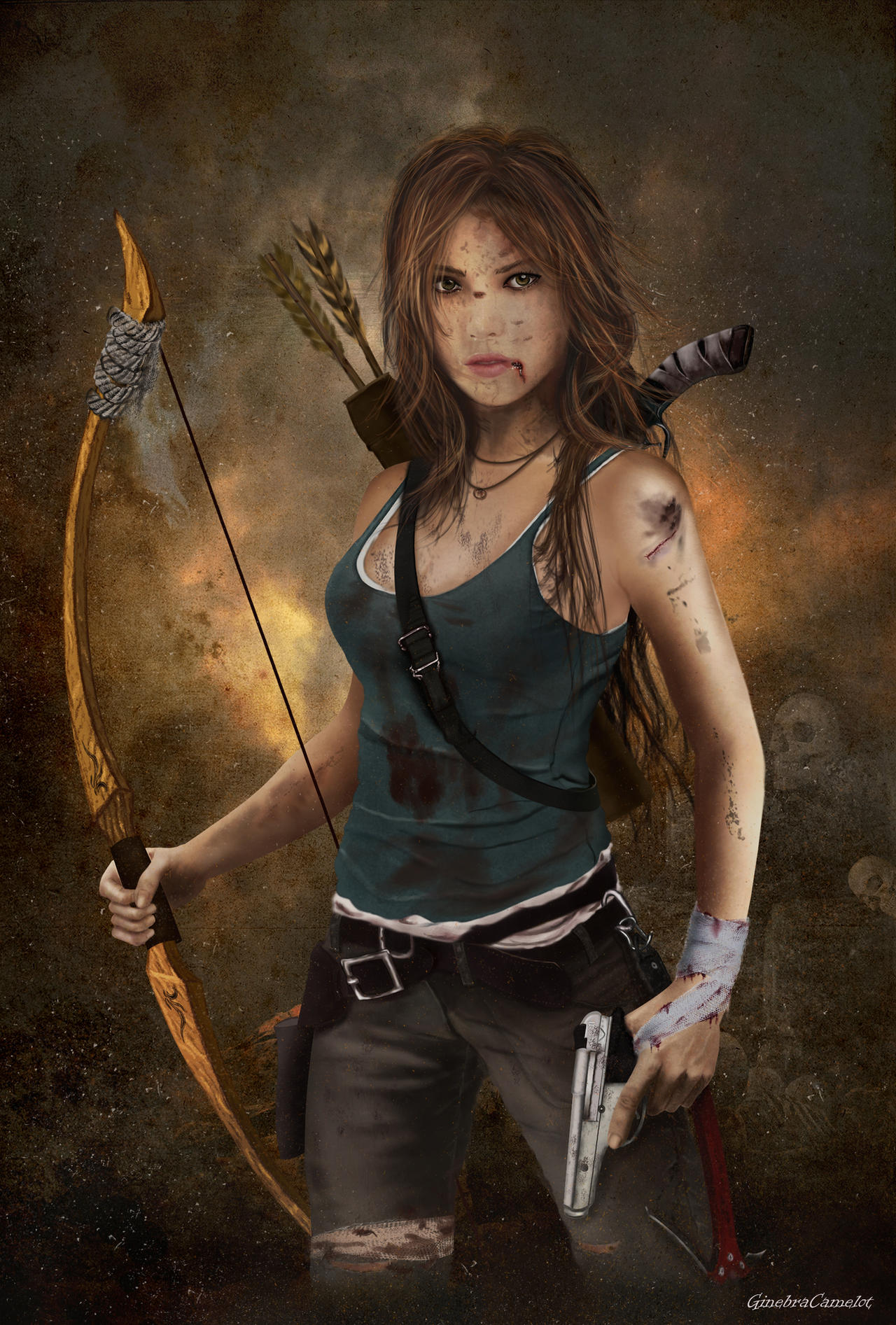 Lara Croft - I Will Survive by GinebraCamelot