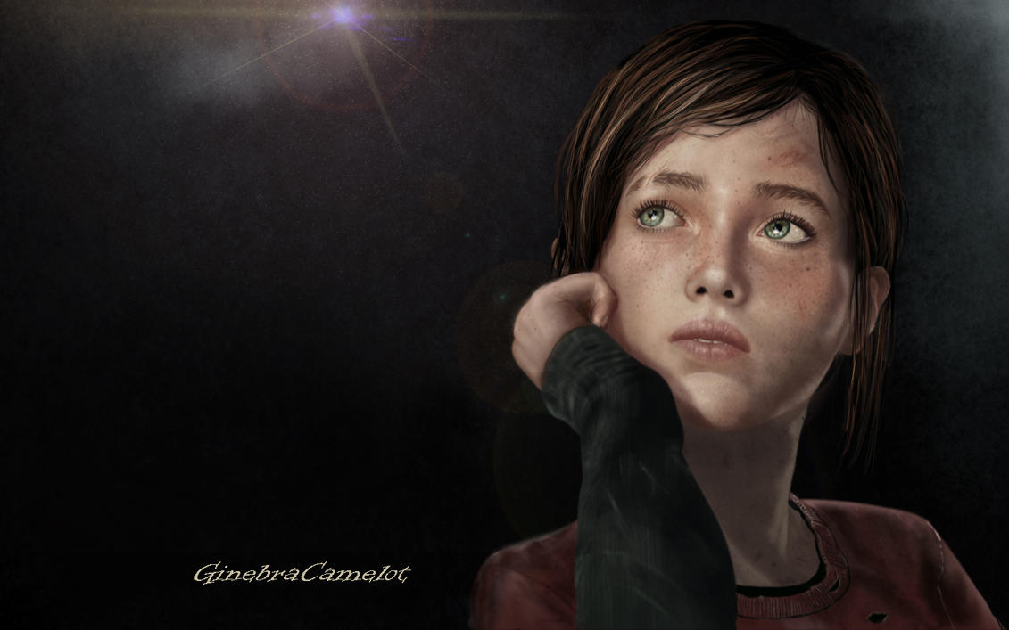 Ellie The Last Of Us Wallpaper: The Last Of Us By GinebraCamelot On DeviantArt