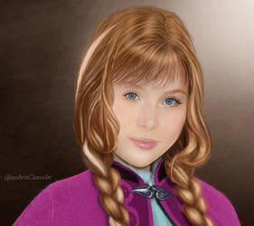 Anna - Frozen by GinebraCamelot