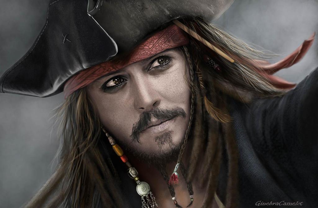 Jack Sparrow by GinebraCamelot