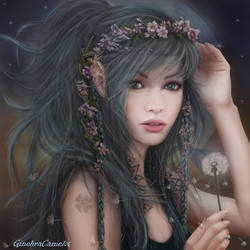 Dandelion- Make a wish to the Moon!!