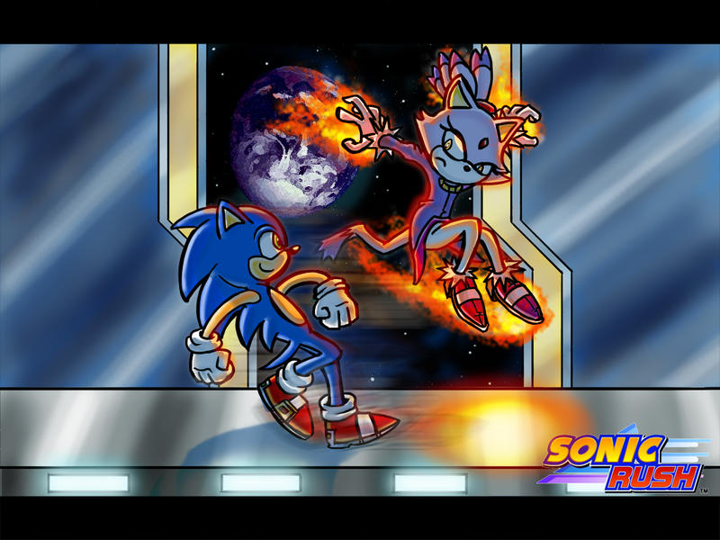 Step by Step - Sonic Rush by clockwork-Cat on DeviantArt