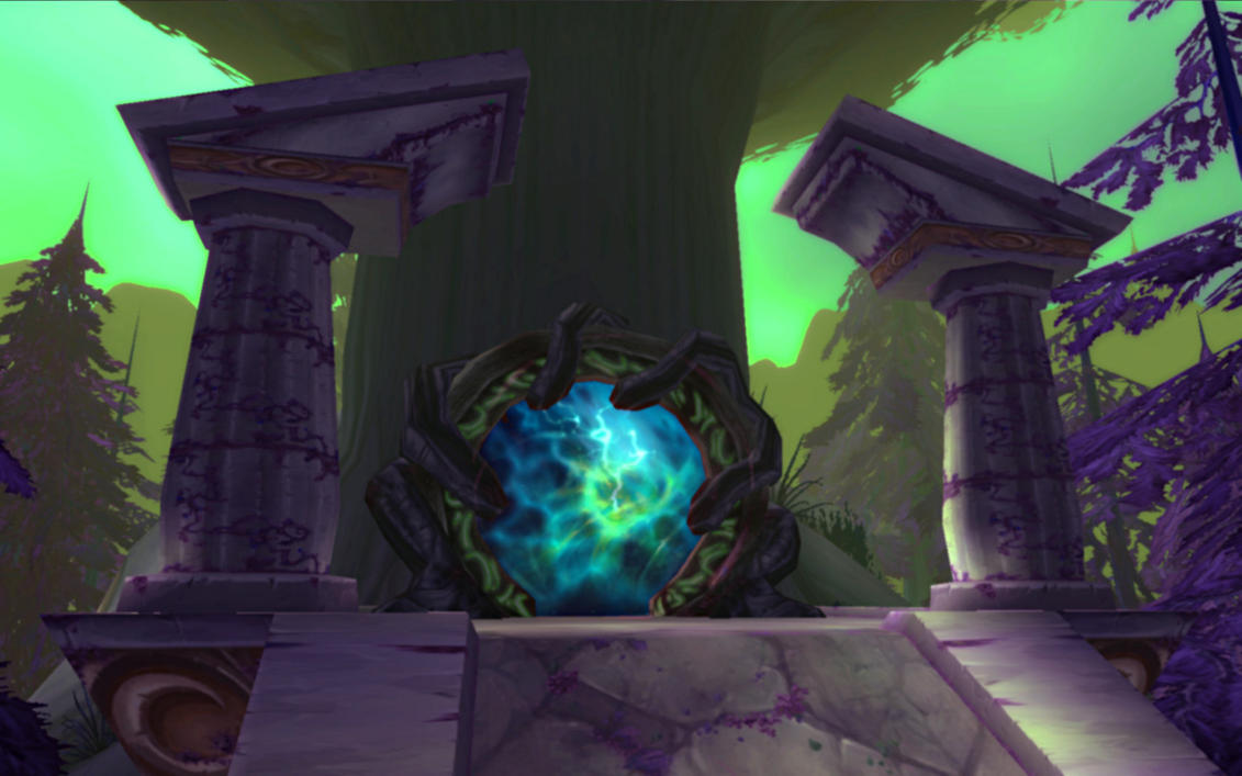 The Dreamiest place in WoW Emerald_Gate_by_TheSeeker2