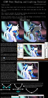 GIMP Pony Shading and Lighting Tutorial