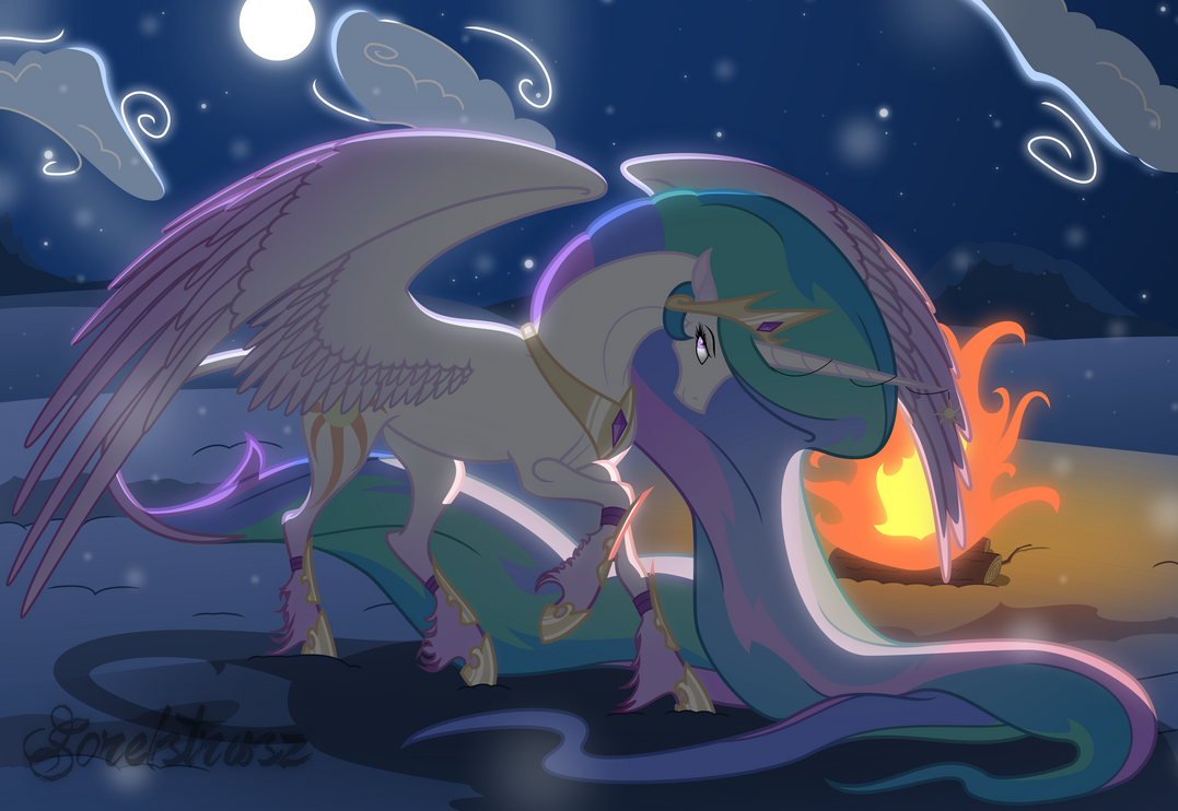 Collab: Winter by the Fire by Sorelstrasz