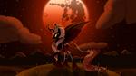 The Darkest of Nights (Lunar Eclipse) by AstralMelodia
