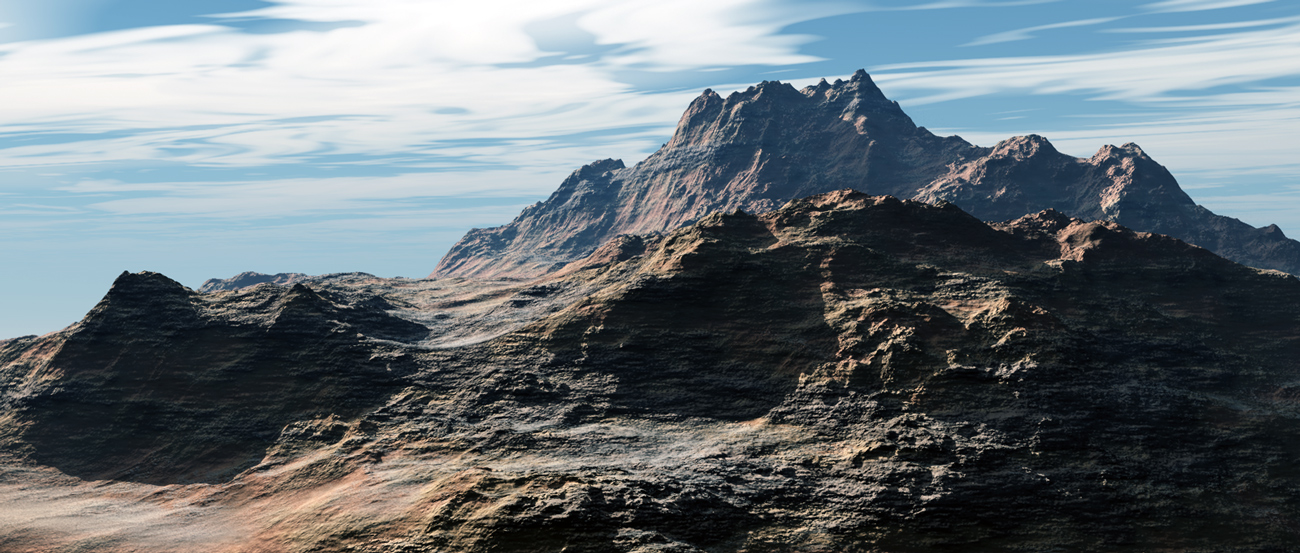Cargomuchacho Mountains by xplosivemind