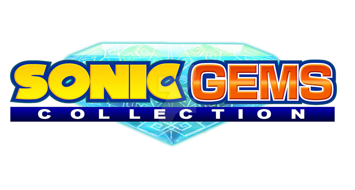 Sonic Gems Collection Logo Recreation (4K) by KolnzBerserK ...