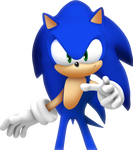 Sonic 06 Render (Updated) (Without Background)