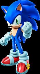 Sonic The Hedgehog - Render - 3dsmax - vray by KolnzBerserK
