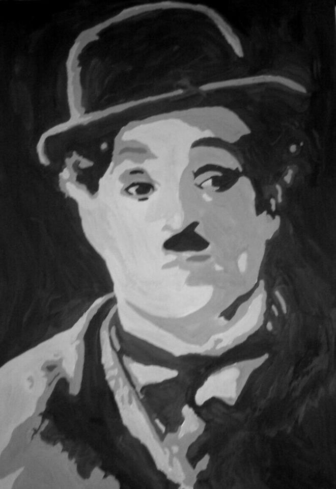 Charles Spencer Chaplin (1889-1977) by Lali-the-Bunny