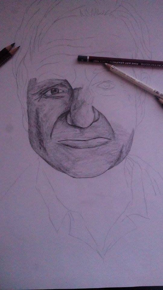 Robin Williams W.I.P by Lali-the-Bunny