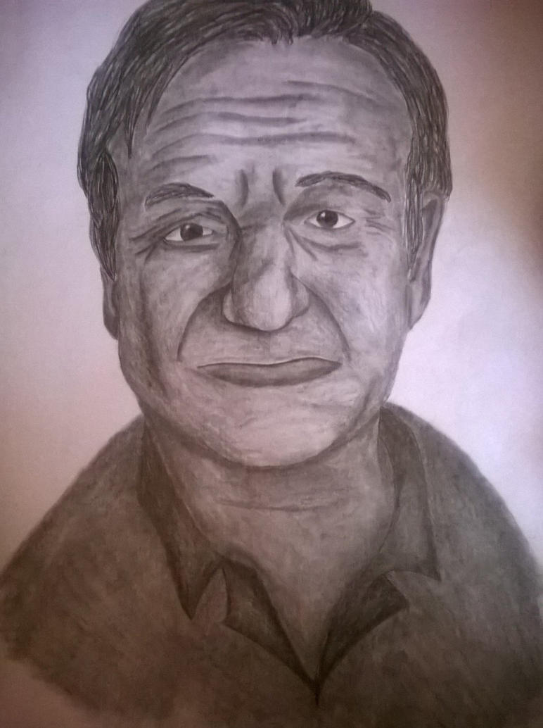 Robin Williams by Lali-the-Bunny