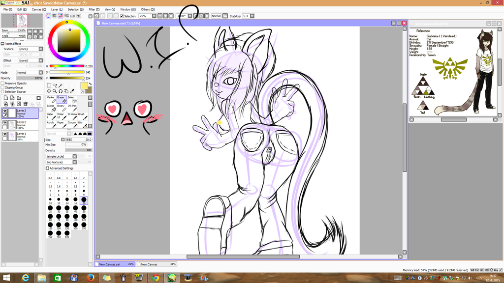 W.I.P  vandead by Lali-the-Bunny