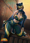 Streets of Gotham: Chun Li / Catwoman