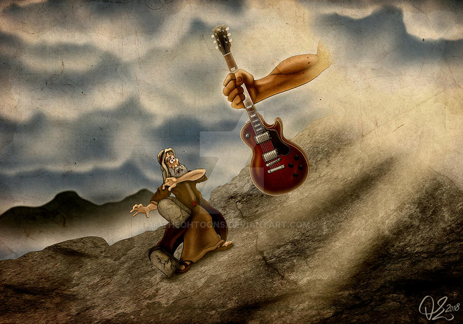 The Lord gave his kin... Rock 'n' Roll