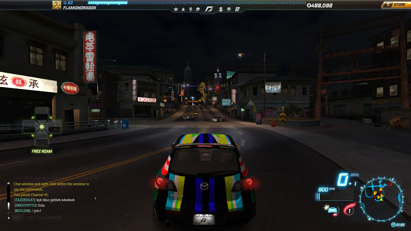 FlamionSwiftWing Need For Speed UnderGround 3 By