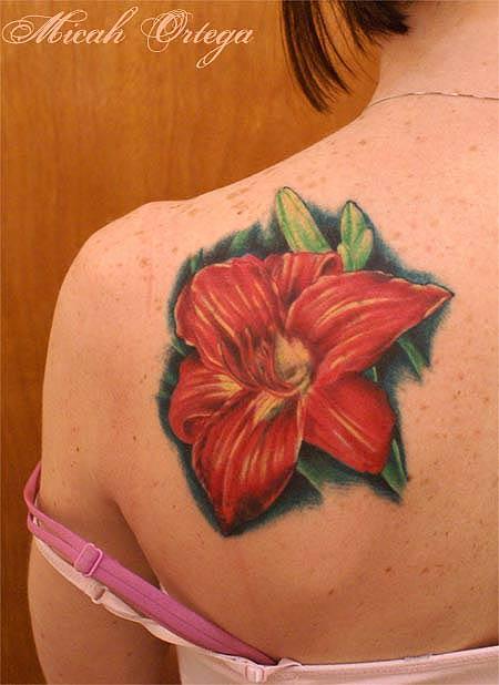 Floral - shoulder tattoo