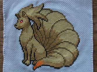 Ninetails Cross Stitch by Mickeycricky
