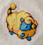 Mareep Cross Stitch