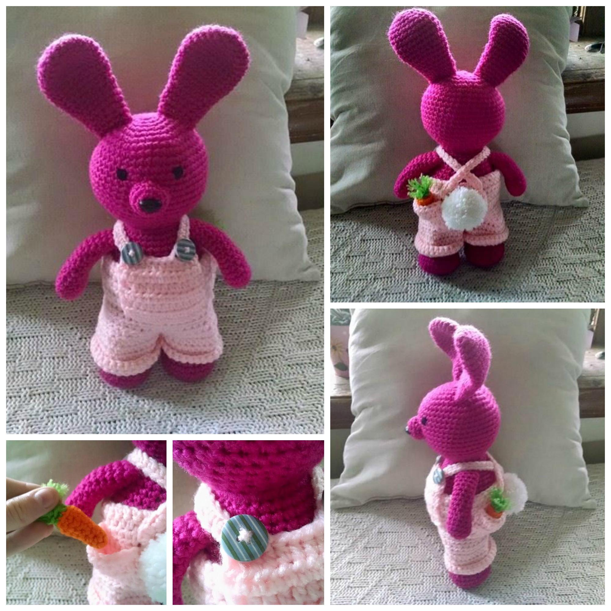 Crochet Amigurumi Easter Bunny : Amigurumi Crochet Easter Bunny by Mickeycricky on DeviantArt