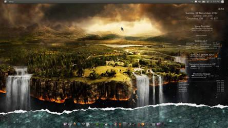 a Kubuntu 12.04.1 screenshot (12/09)