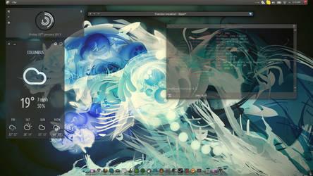 a Kubuntu 12.04.1 screenshot (1/25)