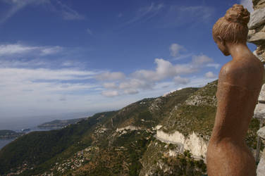 The lady from Eze by avatare