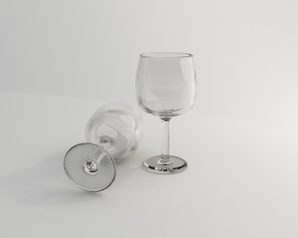 Realistic Glass by tenaciousart