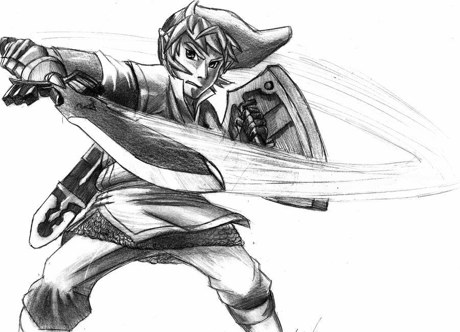 Skyward Sword by natsutsunablackstar