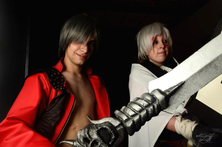 Dante and allen crossover cosplay by Die-Rose