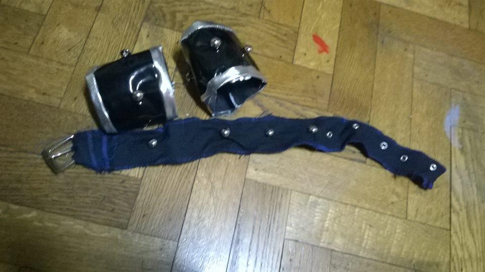 Yugi motuo's belt of neck and bracelets by Die-Rose