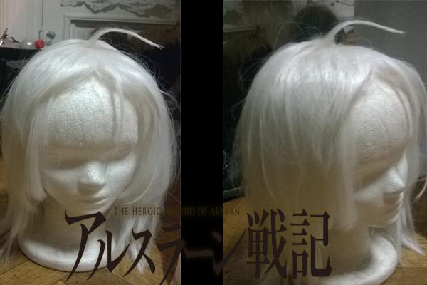 Arslan's wig by Die-Rose