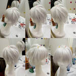 Clear wig by Die-Rose
