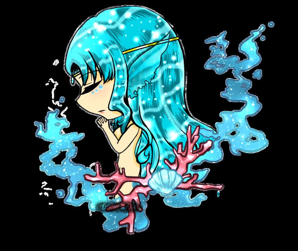 [OC] The Water Goddess - Opaline by neolution