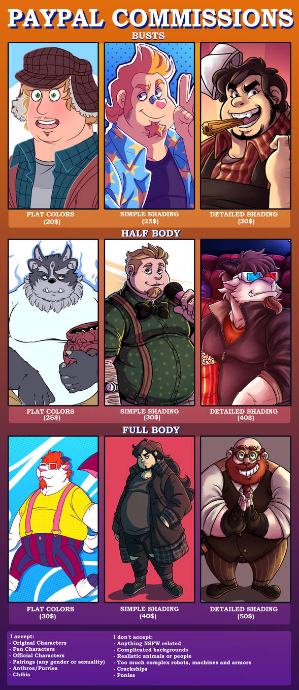 Paypal Commissions!