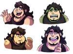 Dumb Faces by Takeuchi15