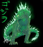 Godzilla Redesign by animatrocities