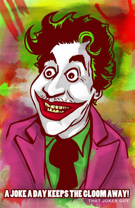 Cesar Joker Romero by sinj
