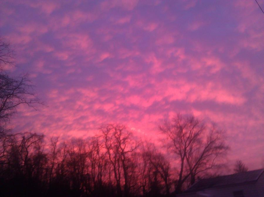January Sunset ...Beginning by CircleDreams