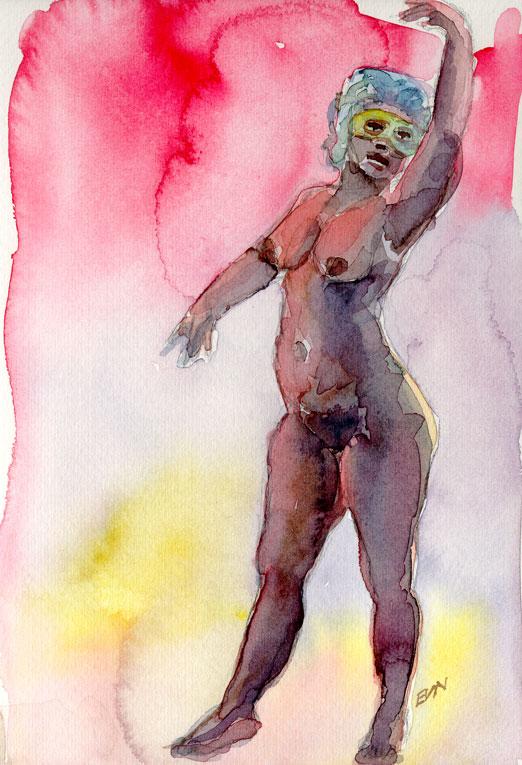 Erika Nelson figure studies
