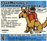 Llammma Giveaway at ClubMorshu