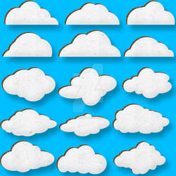 Cardboard Clouds (TEST RENDER)